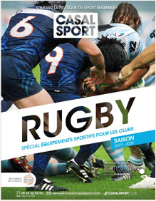 Catalogue Casal Sport Rugby