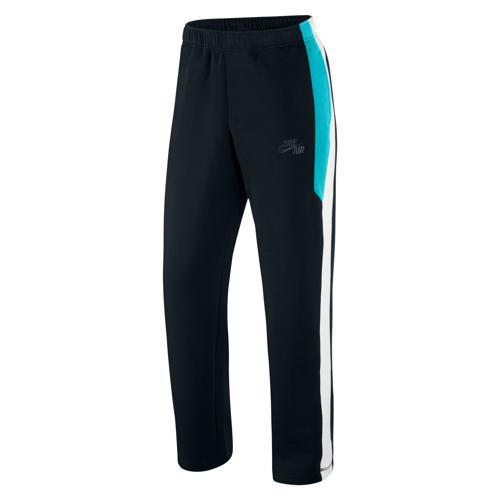 cost charm uk store buy popular Pantalon Basket Nike Air Time W/U Homme Noir/Bleu