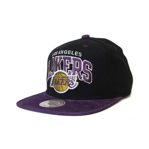 Casquette Basket Mitchell & Ness Scholar Los Angeles Lakers Noir/Violet