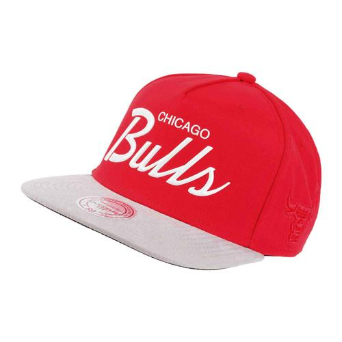 Casquette Basket Mitchell & Ness Tempo Bulls Rouge