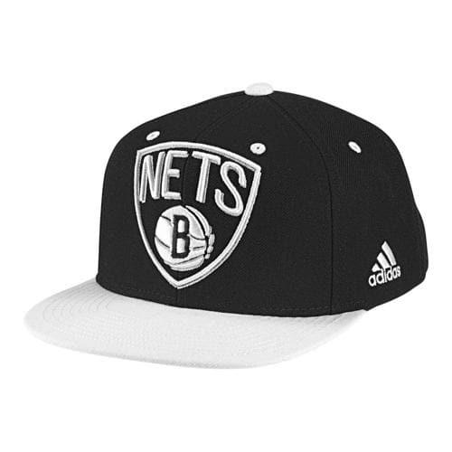 Casquette Basket adidas Brooklyn Nets Noir/Blanc