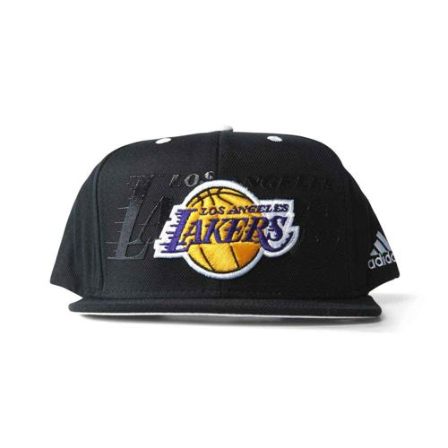Casquette Basket adidas Los Angeles Lakers Noir Blanc - Casalsport.com afb3f032aff