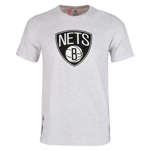 T-Shirt Basket adidas Brooklyn Nets FNWR Junior Blanc