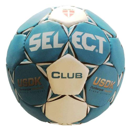 Ballon Select Club US Dunkerque Grand Littoral Handball Replica Bleu/Blanc