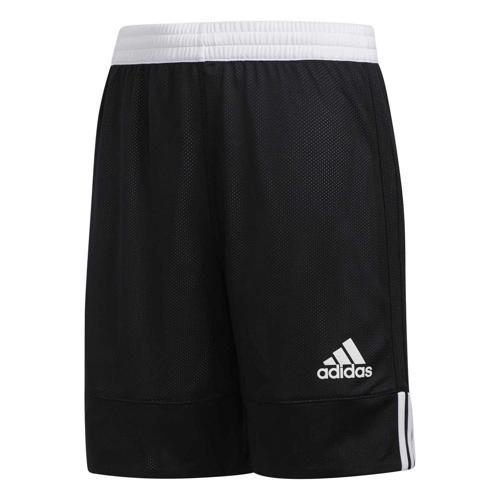 Short de basket enfant adidas - 3G Speed Reversible Noir/Blanc