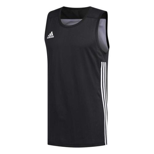 Maillot de basket - adidas 3G Speed Reversible Noir/Blanc