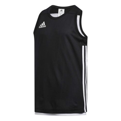 Maillot de basket enfant adidas - 3G Speed Reversible Noir/Blanc
