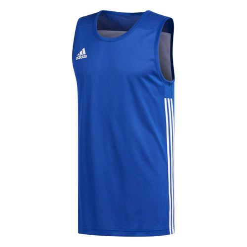 Maillot de basket - adidas 3G Speed Reversible Bleu/Blanc