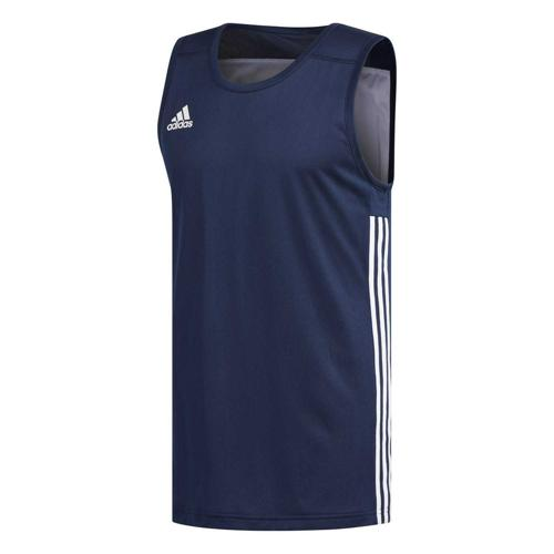 Maillot de basket - adidas 3G Speed Reversible - Bleu foncé/Blanc