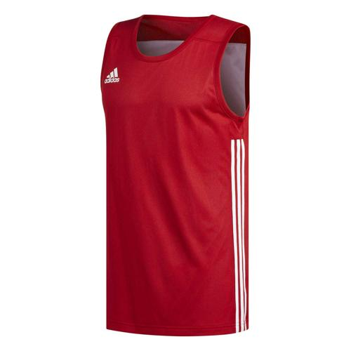 Maillot de basket - adidas 3G Speed Reversible Rouge/Blanc