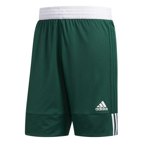 Short de basket - adidas - 3G Speed Reversible - Vert/Blanc