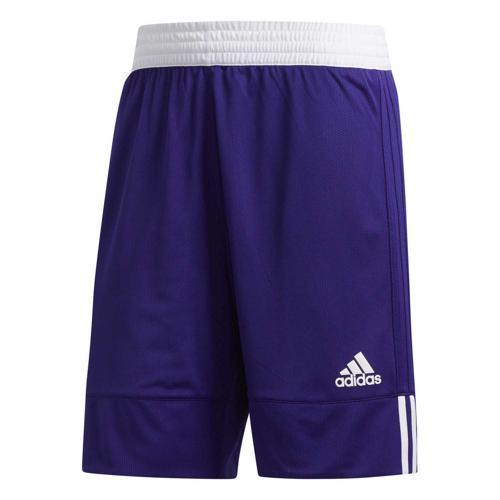Short de basket - adidas - 3G Speed Reversible Violet/Blanc