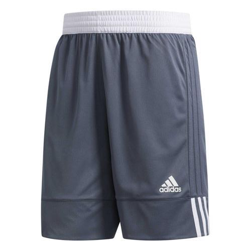 Short de basket - adidas - 3G Speed Reversible - Gris/Blanc