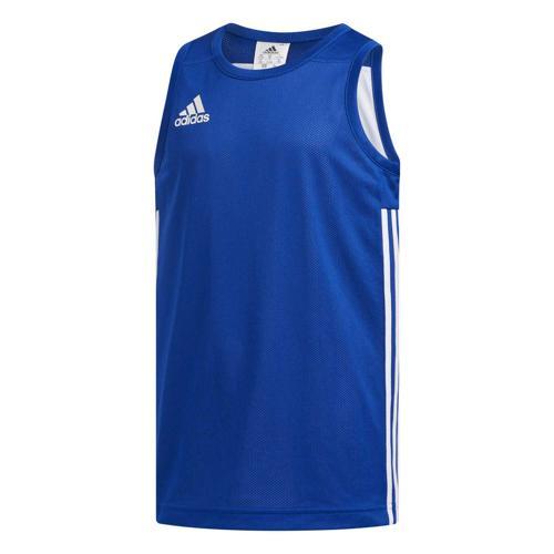 Maillot de basket enfant adidas - 3G Speed Reversible Bleu/Blanc