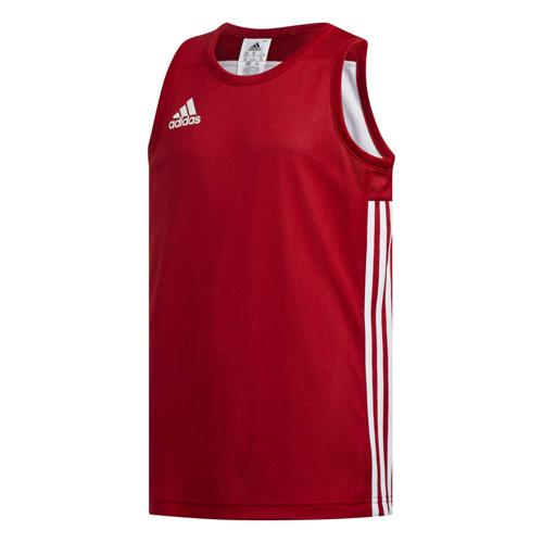 Maillot de basket enfant adidas - 3G Speed Reversible Rouge/Blanc