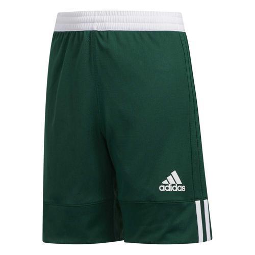 Short de basket enfant adidas - 3G Speed Reversible Vert/Blanc