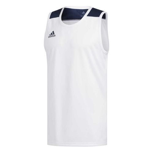 Maillot de basket - adidas Creator 365 - Blanc/Bleu Marine