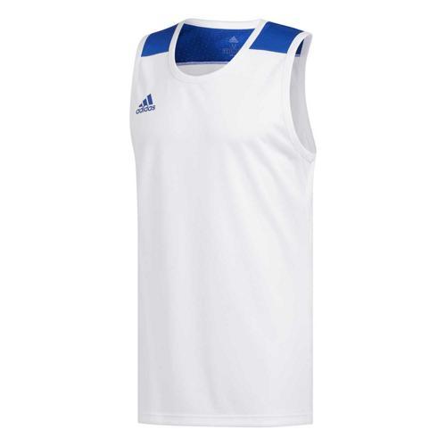 Maillot de basket - adidas Creator 365 - Blanc/Bleu Royal