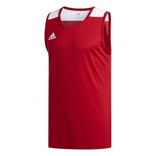 Maillot de basket - adidas Creator 365 - Rouge/Blanc