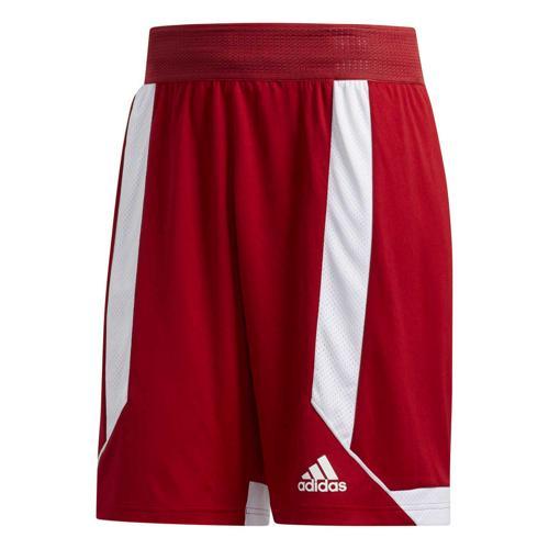 Short de basket - adidas Creator 365 - Rouge/Blanc