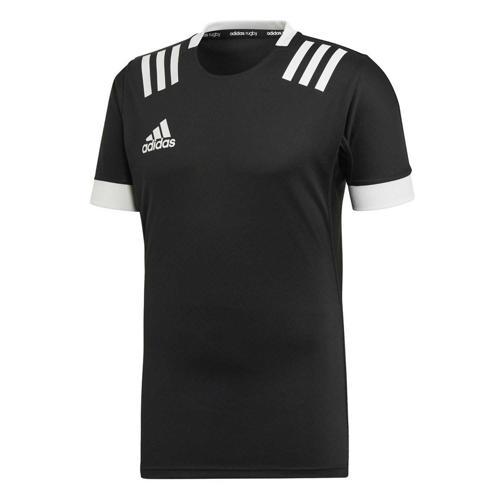 Maillot de rugby - adidas 3-Stripes - Noir