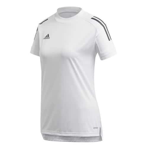 Maillot de foot femme - adidas - Condivo 20 - Blanc