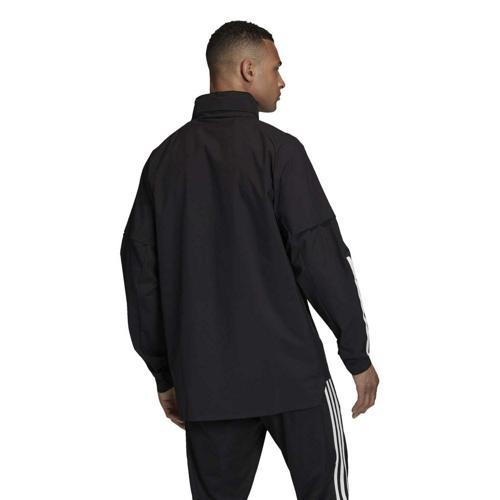 Veste à capuche de foot adidas Condivo 20 Allweather NoirBlanc