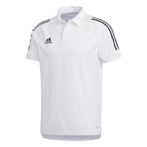 Polo de foot - adidas Condivo 20 - Blanc/Noir
