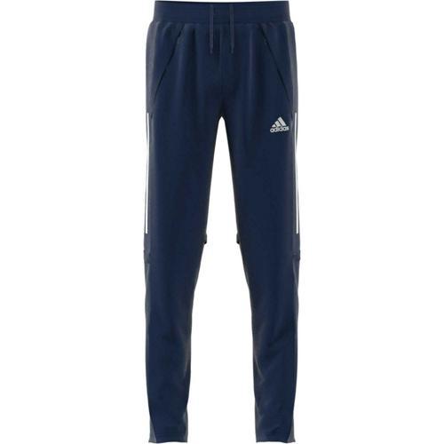 Pantalon d'entraînement de foot enfant - adidas - Condivo 20 - Bleu foncé