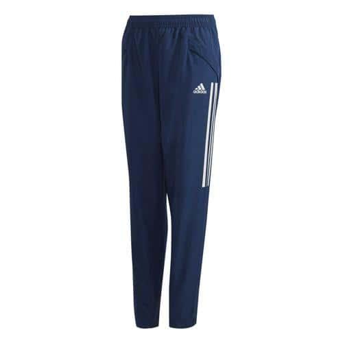 Pantalon de présentation de foot enfant - adidas - Condivo 20 - Bleu foncé