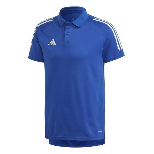 Polo de foot - adidas Condivo 20 - Bleu/Blanc