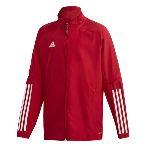 Veste de présentation de foot enfant - adidas - Condivo 20 Rouge