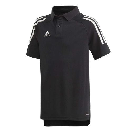 Polo de foot enfant - adidas Condivo 20 - Noir/Blanc