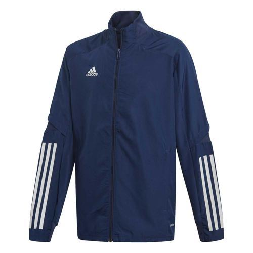 Veste de présentation de foot enfant - adidas - Condivo 20 Bleu foncé