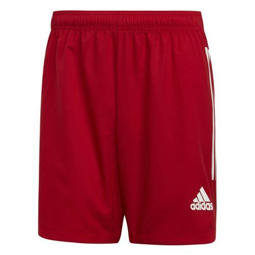 Short de foot - adidas Condivo 20 - Rouge/Blanc