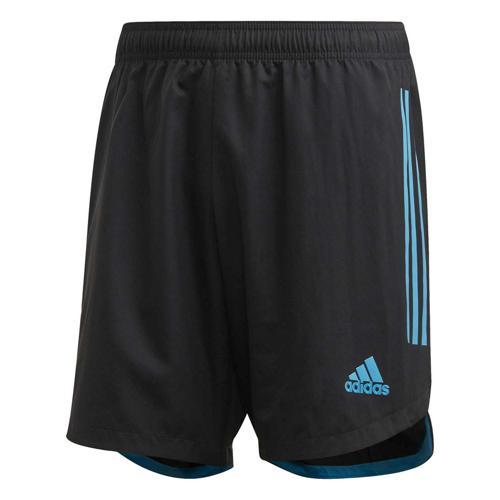 Short de foot - adidas Condivo 20 - Noir/Bleu
