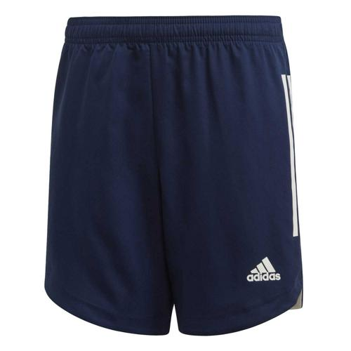 Short de foot enfant - adidas - Condivo 20 - Bleu foncé/Blanc