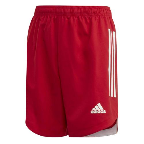 Short de foot enfant - adidas - Condivo 20 - Rouge/Blanc