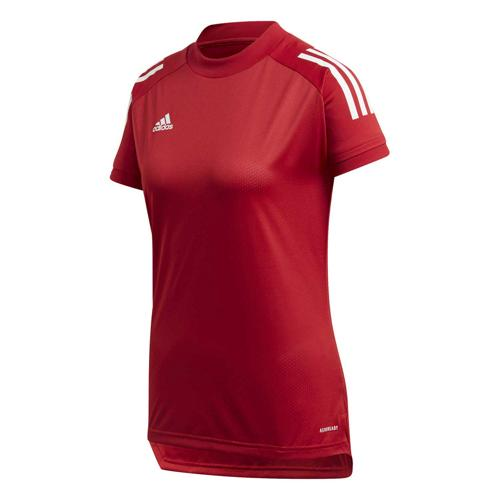 Maillot de foot femme - adidas - Condivo 20 Training - Rouge