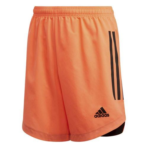 Short de foot enfant - adidas - Condivo 20 - Rouge fluo/Noir