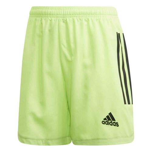 Short de foot enfant - adidas - Condivo 20 - Vert fluo/Noir