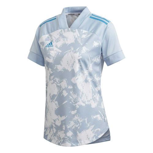 Maillot de foot femme - adidas - Condivo 20 - Bleu clair