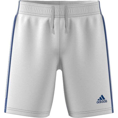 Short de foot enfant - adidas - Tastigo 19 - Blanc/Bleu