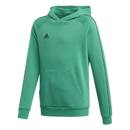 Sweat-shirt à capuche de foot enfant - adidas - Core 18 Vert