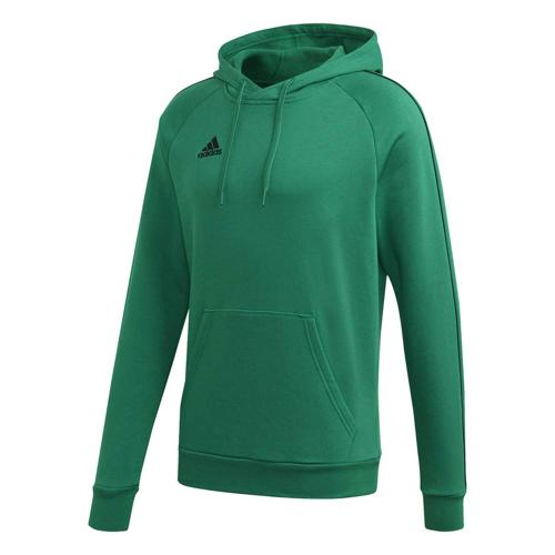 Sweat-shirt à capuche de foot - adidas - Core 18 - Vert