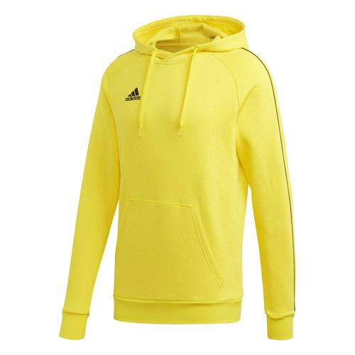 Sweat-shirt à capuche de foot - adidas - Core 18 - Jaune