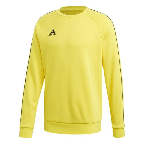 Sweat-shirt de foot - adidas Core 18 - Jaune