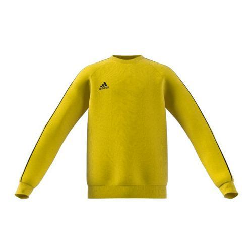 Sweat-shirt de foot enfant adidas - Core 18 - Jaune