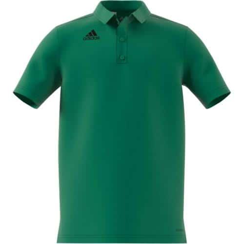 Polo de foot enfant - adidas Core 18 - Vert