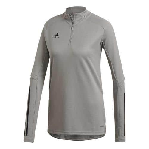 T-shirt de foot femme - adidas - Condivo 20 - Gris